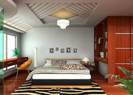 Decorations:Unique Ceiling Design For Tropical Bedroom With Indoor Plants  Impressive Bedroom Ceiling Lights Ideas