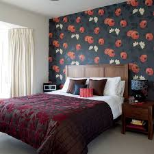 Small Picture Bedroom Wallpaper Designs Ideas Home Design Ideas