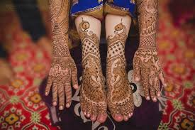 South Indian Bridal Mehndi Designs The Traditional Tamil Wedding Of The Beautiful Paola And