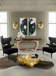 Luxury Modern Furniture Brands Impressive Decorating With A Stool Or A Bench Glamorous HomeSpa Designs