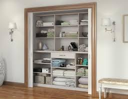 Linen Closet Design Plans Linen Cabinets Hall Closet Organizers California Closets