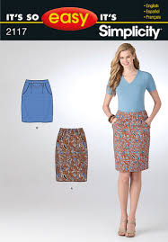 Skirt Patterns With Pockets Cool Simplicity 48 Misses Skirt
