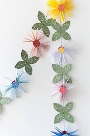 Paper Flower Garland Paper Flower Garland