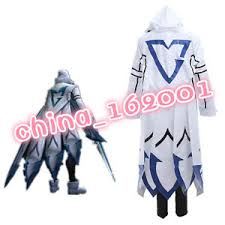lol size league of legends lol talon ssw talon white uniform cosplay