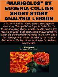 marigolds by eugenia collier short story analysis lesson   marigolds by eugenia collier short story analysis lesson