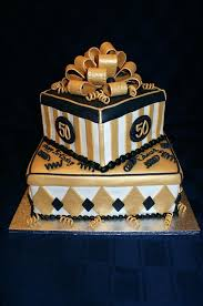 88 50th Birthday Cake For Him Gold And Black 50th Birthday Cake