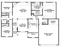 3 bedroom single story house plans kerala with four bedroom floor plans single story best collection