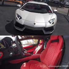 aventador interior white. ballon white aventador w red diamond stitch interior u2022 follow modernballers a