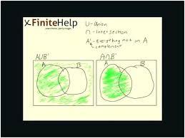 Venn Diagram Aub Finite Math Venn Diagram Word Problems Three Circle Diagram