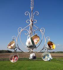 the tea cup chandelier