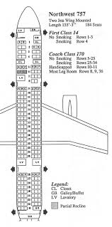 Boeing 757 Seating Chart Us Airways American Airlines Boeing 757 Seating Cha