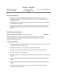 Stunning Home Depot Resume Photos - Simple resume Office Templates .