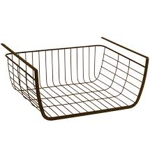 Under Shelf Storage Basket - Bronze in Under Shelf Storage Racks