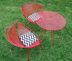 wonderful retro outdoor furniture patio artrio info chairs and table come back popular vintage metal australia