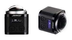 Somikon 360°-4K-Actioncam: 360-Grad-4K-Cam mit Sony-Sensor für 150 Euro