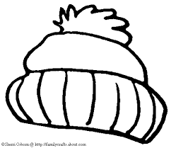 Small Picture Winter hat free winter coloring pages stocking cap page clip art