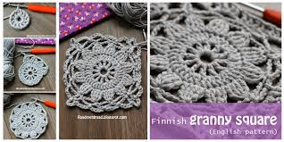 Easy Crochet Granny Squares Free Patterns Classy Crochet Granny Square From Frozen Finland [Easy Free Pattern