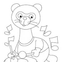 Ferret Coloring Pages Page 5 Coloring Pages