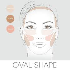 beauty tip here s how to apply your blush bronzer highlighter if you have oval shapeoval face shapesoval facesmakeup