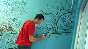 How to Paint a Wall Mural-Example3