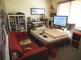 bedroom setup ideas. Plain Ideas Cool Bedroom Setups  Home Design Ideas Answersland Regarding Gaming  Setup Throughout A