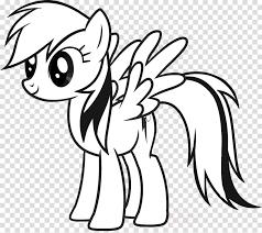 Download Omalovanky My Little Pony Rainbow Dash Clipart Rainbow Dash