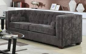 grey velvet tufted sofa. Delighful Velvet Fresh Grey Velvet Tufted Sofa 72 For Sofas And Couches Ideas With  Throughout B