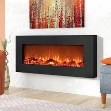 wrought studio krish wall mounted electric fireplace reviews wayfair krish wall mounted electric fireplace wall mount