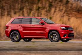 2018 jeep suv. exellent suv 2018 jeep grand cherokee trackhawk side in motion 02 intended jeep suv
