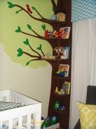 Corner bookcase kids