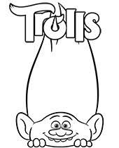 More 100 coloring pages from cartoon coloring pages category. Trolls Coloring Pages To Print Topcoloringpages Net