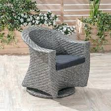 modern club patio recliner rocking outdoor wicker swivel chair big outdoor wicker swivel chair with outdoor cushion by knight outsunny rattan