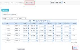 Time Sheet Online New Teacher Time Sheet Compudance Online Helpdesk 1