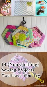 14 non clothing sewing projects you have to try