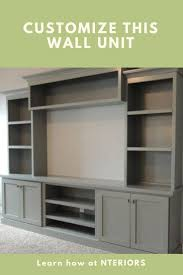 Living Room Wall Unit 25 Best Ideas About Living Room Wall Units On Pinterest Wall