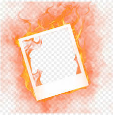 fire frames fire photo frame png