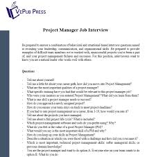 Situational Based Interview Questions Business Service Vepub