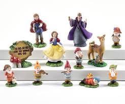 fairy garden fun miniature dollhouse snow white seven dwarfs 11 p set