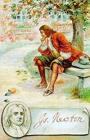 Resultado de imagen para Newton bajo el árbol de manzanas