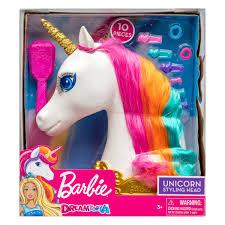 18-62860 <b>Barbie</b> Dreamtopia <b>Голова</b> Единорога для <b>причесок</b> от ...