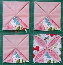 Riley Blake Designs -- Cutting Corners: Cathedral Window ... & non ironing cathedral blocks - pin cushion Adamdwight.com