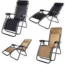2x palm springs zero gravity chairs lounge outdoor yard patio chairs beach black com