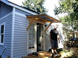 large image for diy awning for patio how to build awning over door if the awning