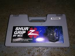 Shur Grip Tire Chains West Shore Langford Colwood Metchosin