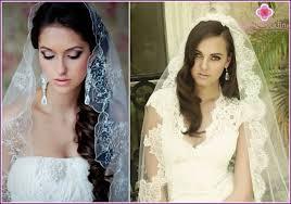 Nevěsta Vlasy Se Závojem Na Dlouhé Střední A Krátké Vlasy Foto A Video