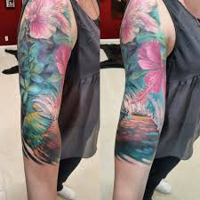 Female Half Sleeve Tattoos Designs 289 Fascinating Half Sleeve Tattoos For Women Creativefan