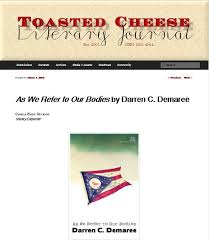 "Toasted Cheese Literary Journal reviews ""As We Refer to our Bodies"" - 8th  House Publishing"