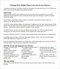 House Cleaning Chart Cleaning Chart 8 Free Word Pdf Documents Download Free