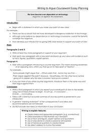 writing to argue essay plan ks by zk teaching resources tes