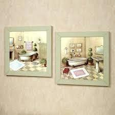 bathroom washtub framed wall art set washtub wall art set multi pastel set of two framed on set of two framed wall art with bathroom washtub framed wall art set washtub wall art set multi